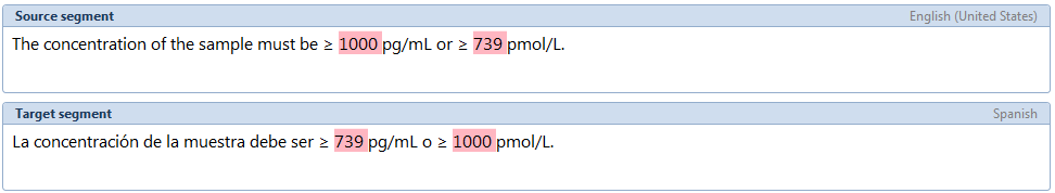 inconsistent numbers order